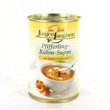 Jürgen Langbein Pfifferling-Rahm-Suppe 400ml