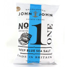 John & John Kartoffelchips Deep Blue Sea Salt