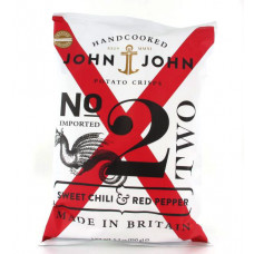 John & John Kartoffelchips Sweet Chili & Red Pepper