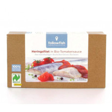 followfish Heringsfilet in Bio-Tomatensauce