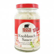 Block House Knoblauch Sauce