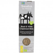 Swedish by Nature Black & White Crispbread Sticks